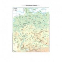 Cartine Geog. 20 pz. A3 Plast. Germania