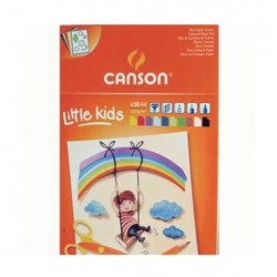 Blocchi Canson Kids Colorati 30 ff 120 gr. A4