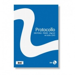 Carta Protocollo 5 mm. 400 ff 60 gr.