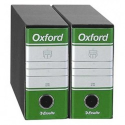 Registratori Oxford G81 d.so 8 h.18 Verde