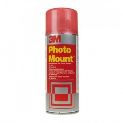 Colla Spray mount 3M Photo 400 ml Rosso