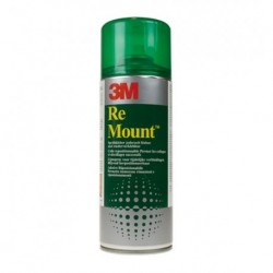 Colla Spray mount 3M Re mount 400 ml Verde
