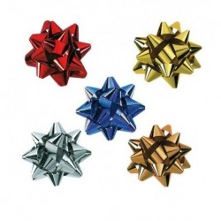 Stelle mm. 14 diam. 60 100 pz. Assortite
