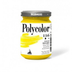 Maimeri Polycolor Vasetto 140 ml. Giallo Primario